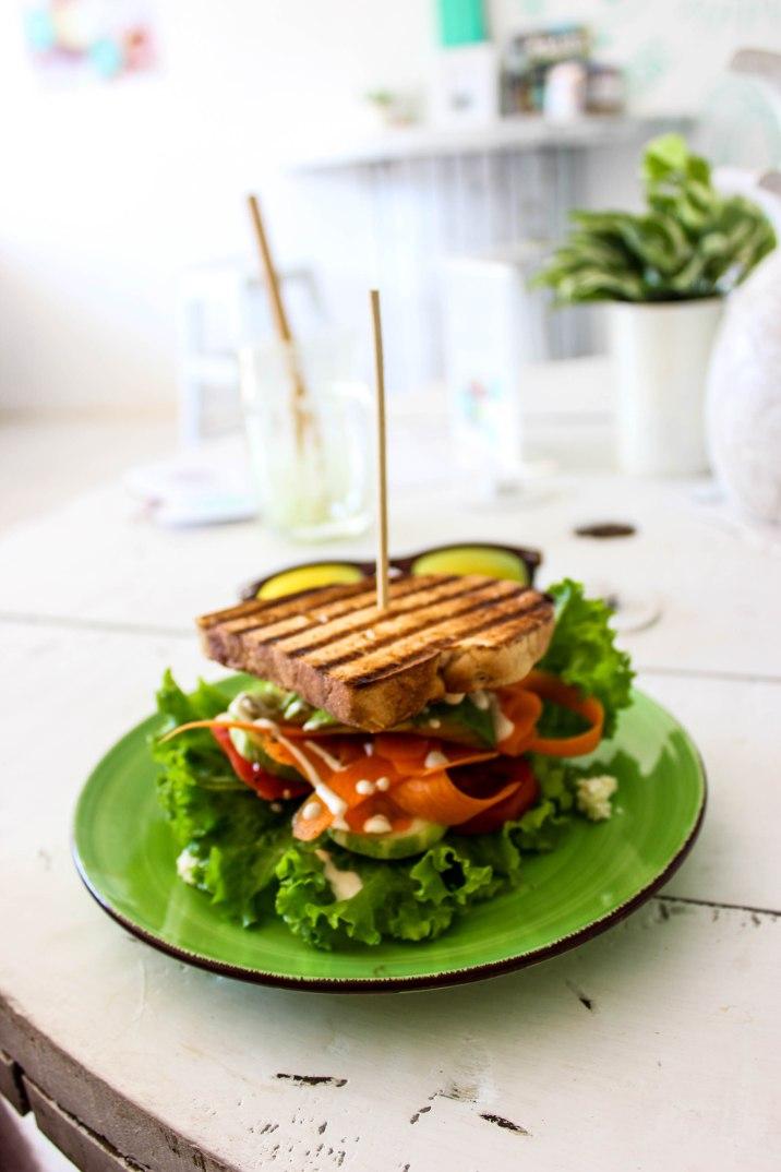 Vegetable Sanswich